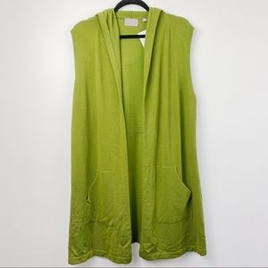 CYRUS green duster with hood
